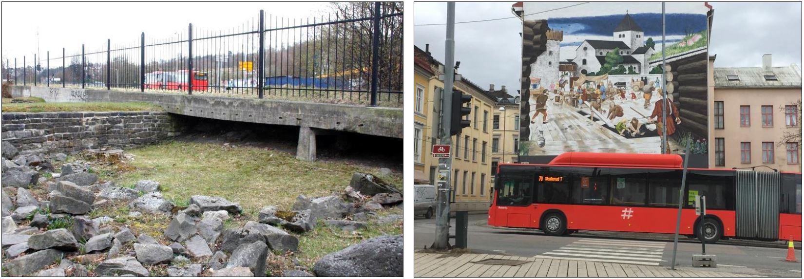 Oslo torg før og nå